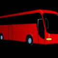 Autocar rouge